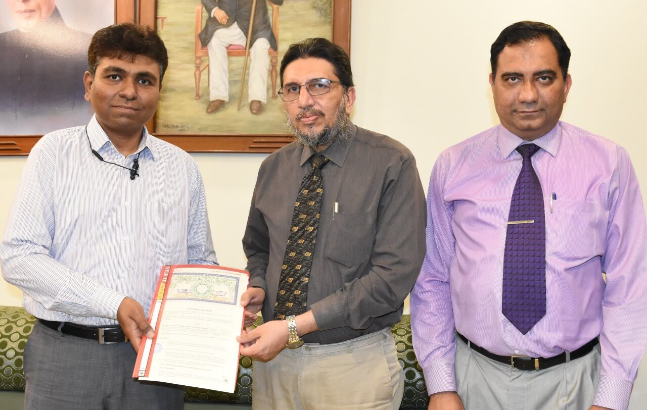 MoU signed between SSUET Zong