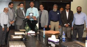 PEC team conducted Re-Accreditation visits of SSUET